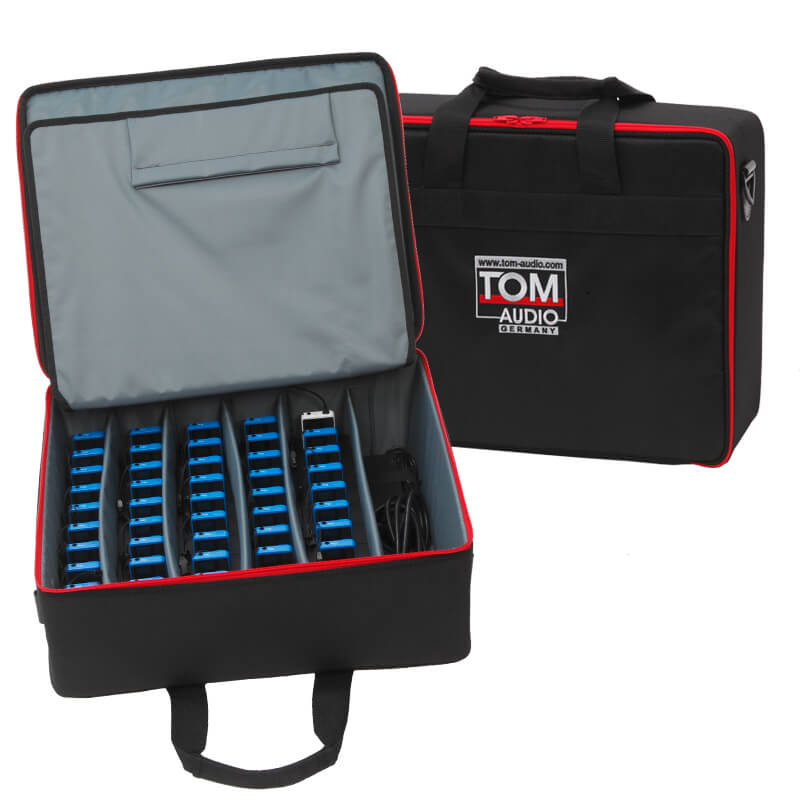 Tour Guide System TOM-Audio-TG-100 charging case